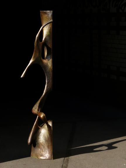 Wolfgang Flad, bronze, bronce, Skulptur, sculpture