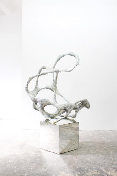 Wolfgang Flad, Skulptur, sculpture, mirror