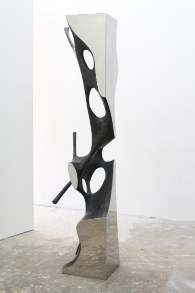 Wolfgang Flad, bronze, bronce, Skulptur, sculpture, Edelstahl, stainless steel